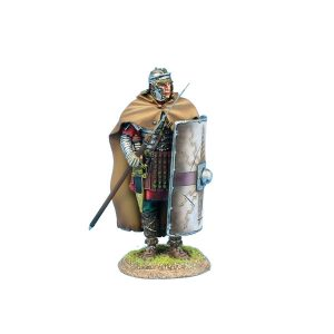 ROM222 Imperial Roman Legio XIV G.M.V. Legionary Standing with Pilum