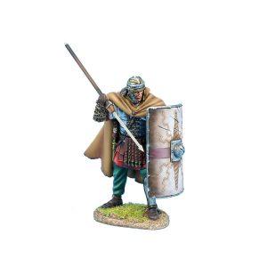 ROM223 Imperial Roman Legio XIV G.M.V. Legionary Ready with Pilum
