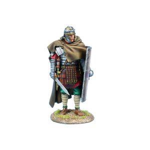 ROM224 Imperial Roman Legio XIV G.M.V. Legionary Standing with Gladius
