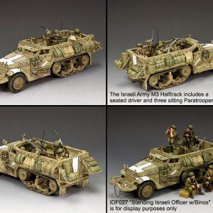 IDF020 THE ISRAELI ARMY M3 HALFTRACK