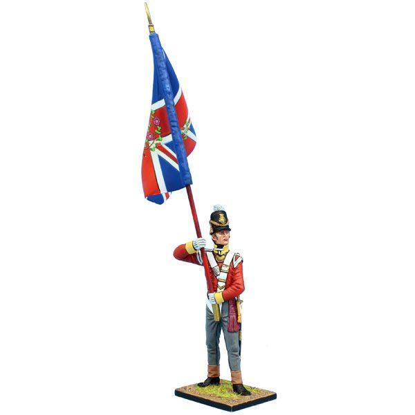 MB076 British 30th Regt of Foot Ensign Standard Bearer