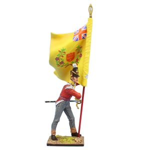 MB077 British 30th Regt of Foot Ensign Standard Bearer