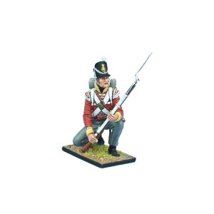 MB082 British 30th Regt of Foot Grenadier Kneeling Ready #1