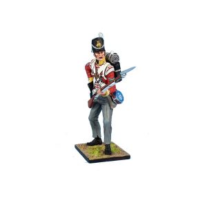 MB086 British 30th Regt of Foot Grenadier Reaching for Cartridge