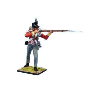 MB091 British 30th Regt of Foot Grenadier Standing Firing #2