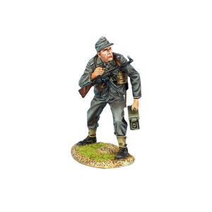 NOR083 German Heer Infantry NCO with Luger, StG44, and Ammunition Box