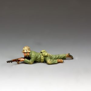USMC031 MARINE CRAWLING into POSITION
