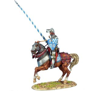 MED044 French Wounded Knight - Louis du Bois-Bourdon