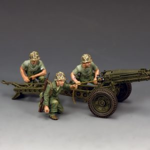 USMC041 USMC 75mm PACK HOWITZER AND CREW