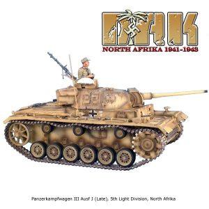 DAK002 Panzerkampfwagen III Ausf J (Late) - 21st Panzer Division by First Legion