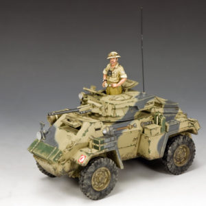 EA117 The Humber MK.II Armoured Car, WW2 British Eighth Army