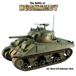 NOR047 US M4 75mm Sherman Tank - 2nd Armored Division by First Legion