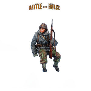 BB020 German Waffen SS Panzer Grenadier Rider with K98 #1