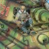 BB020 German Waffen SS Panzer Grenadier Rider with K98 #1