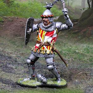 CS01016 - English Knight Mace Wielder