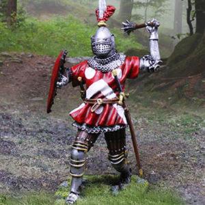 CS01017 - French Knight Mace Wielder