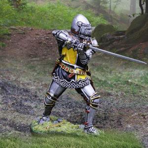 CS01019 - French Knight Sword Wielder