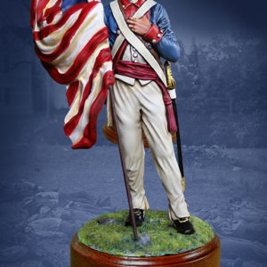 CS16012 - American Revolutionary Flagbearer