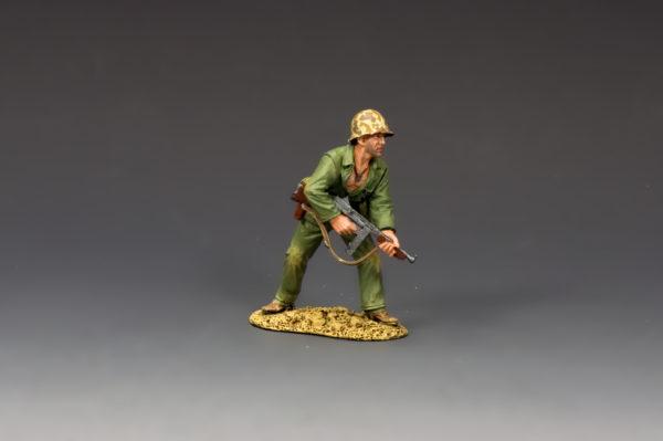 USMC042 MARINE w/TOMMY GUN