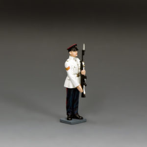 CHK007 RHKR Corporal Present Arms