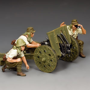 JN045  The Japanese Light Howitzer & Crew