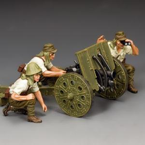 JN045  The Japanese Light Howitzer & Crew