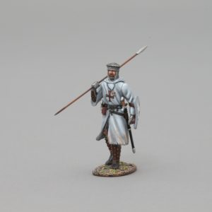 MED004A MARCHING CRUSADER #1 (WHITE SHIELD)