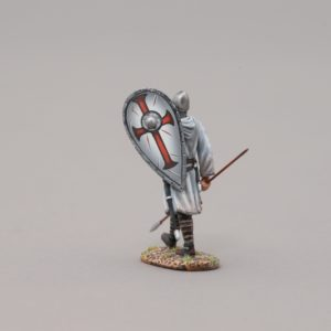 MED005A MARCHING CRUSADER #2 (WHITE SHIELD)