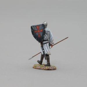 MED005B MARCHING CRUSADER #2 (BLACK SHIELD)