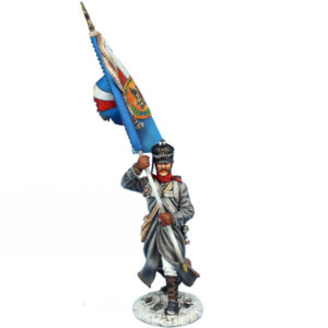 NAP0630B Russian Vladimirsky Standard Bearer - Battalion Flag