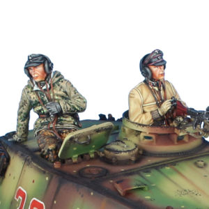 TC011 German SS Winter Tank Crew