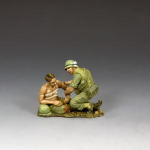 VN009 Corpsman & Wounded Marine