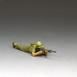 VN012 Marine Lying Prone Firing