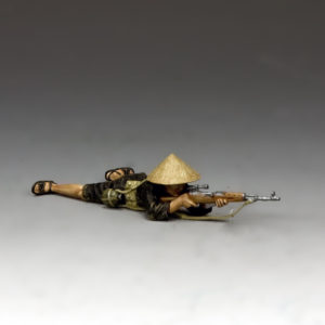 VN019  Lying Prone Viet Cong Sniper