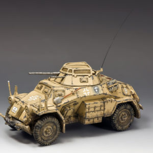 AK092 Sd. Kfz. 222 Armoured Car (North Africa-Desert)