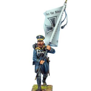 NAP0579C Prussian 3rd Silesian Landwehr Standard Bearer #3