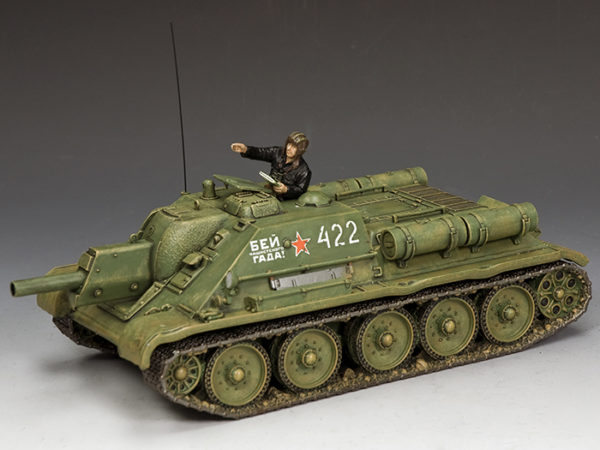 RA077 The SU-122 Self Propelled Howitzer