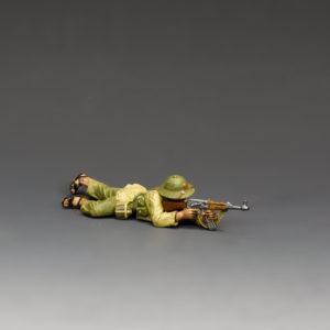 VN020 NVA Lying Firing AK47