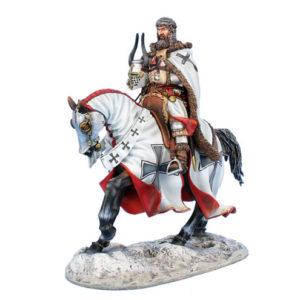 CRU105 Mounted Andreas von Felben - Livonian Master