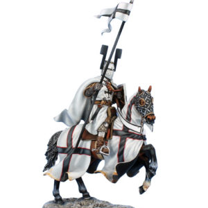 CRU108 Mounted Teutonic Knight with Spear