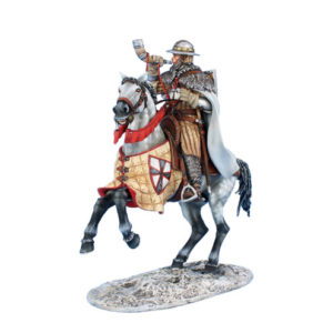 CRU109 Mounted Teutonic Knight Sergeant with Horn