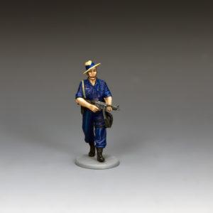 SAF003 Patrolling Gurkha Contingent Police Officer