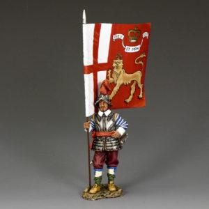 PnM021 The King's Lifeguard Regt.Flagbearer