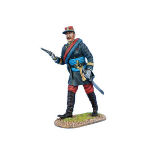 FPW02 French Line Infantry Officer with Black Jacket 1870-1871