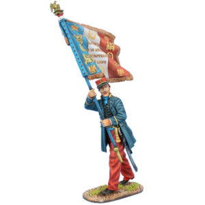 FPW03 French Line Infantry Standard Bearer 1870-1871