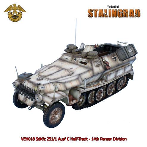 VEH018 SdKfz 251/1 Ausf C Half-Track - 14th Panzer Division - Stalingrad