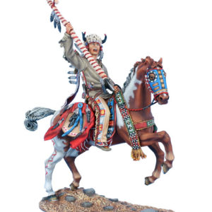 WW019 Mounted Cheyenne Indian Chief