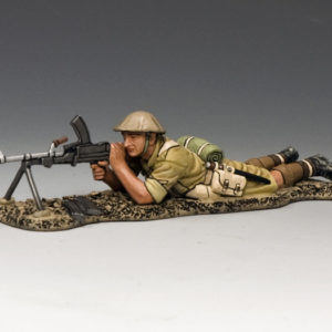 EA081 Lying Prone Bren Gunner
