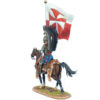 TYW026 Polish Winged Hussar with Hussar Battle Standard