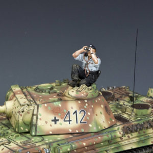 WS353 Sky-Watching Panzer Crewman